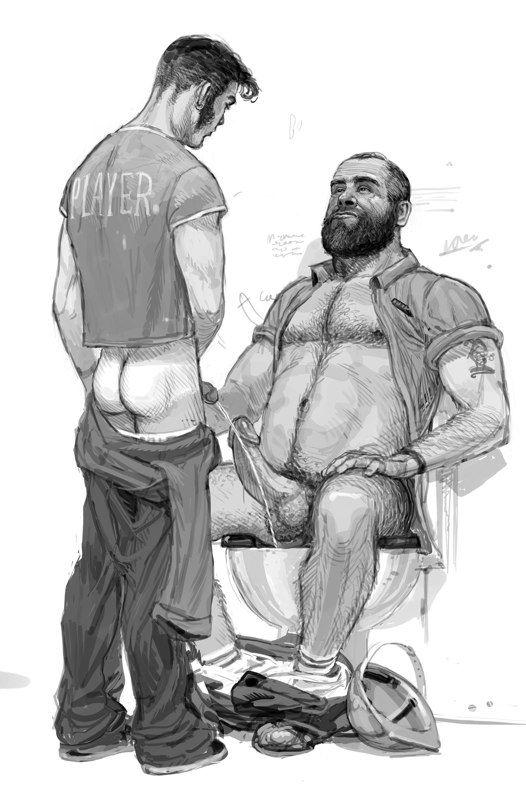 Gay porn sketches