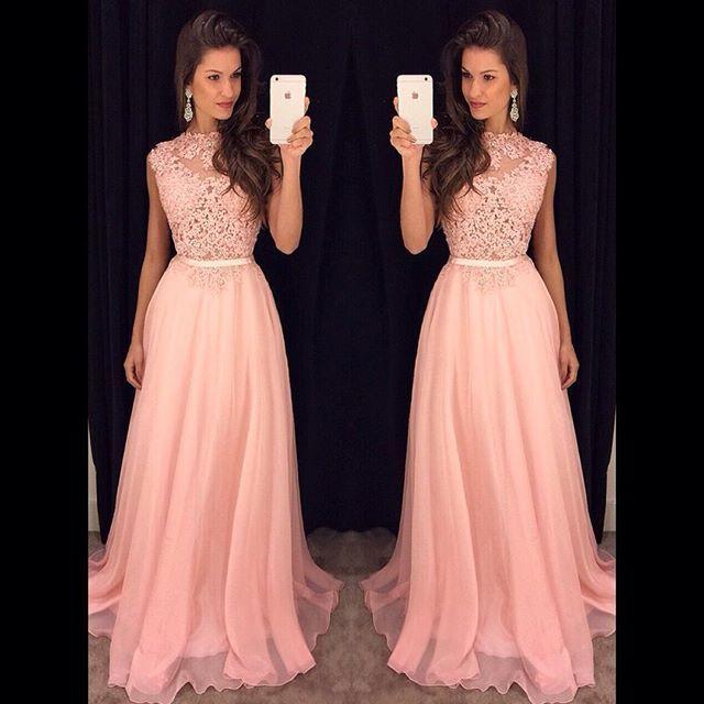 Vestido Rosa de fiesta para 15 años  c7b90e017c11
