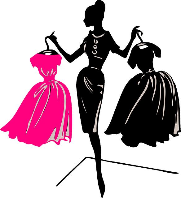 Free Image On Pixabay Mannequin Fashion Female Fashion Illustration Dresses Boutique Logo Design Clothing Logo