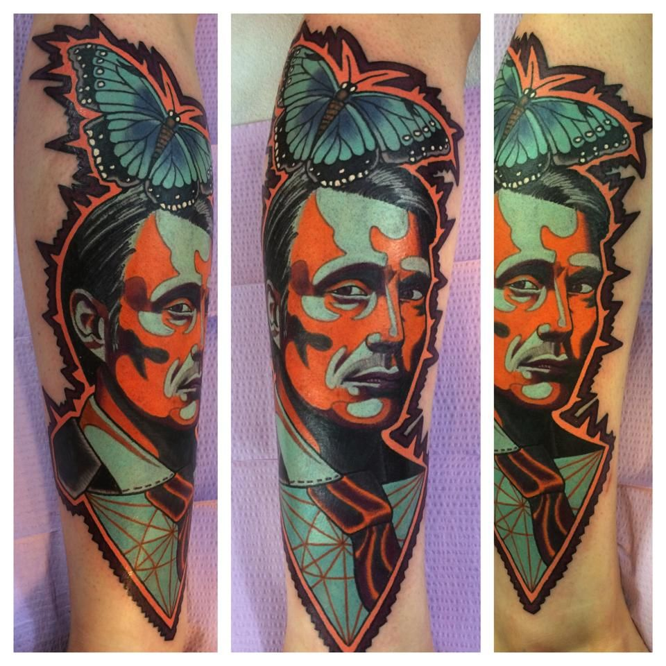 Hannibal tattoo geary morrill eclectic art tattoo in