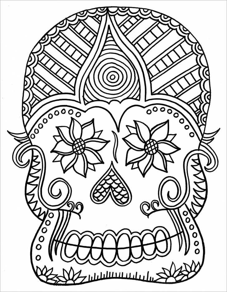 13 alucinantes dibujos para colorear para manejar el estrés | El ...