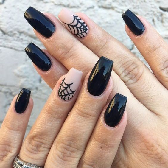 Ditch the Costumes and Match Halloween Nails with
