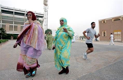 Image: Mauritanian women