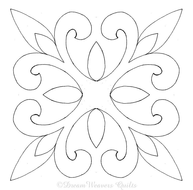 Quilt stencil patterns free copyright law and the for Free motion templates