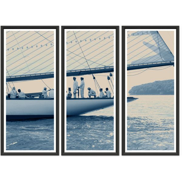Trowbridge Ben Wood Sailors Triptych ($1,925) ❤ liked on Polyvore featuring home, home decor, wall art, art, backgrounds, decor, wooden wall art, handmade wall art, triptych wall art and brown wall art