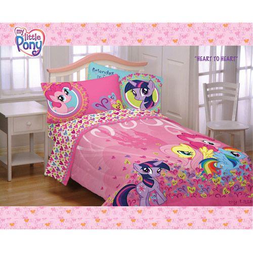 My Little Pony Sheet Set Walmart Com My Little Pony Bedding My Little Pony Bedroom Pony Bedroom