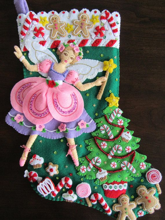 Bucilla Sugarplum Fairy 18
