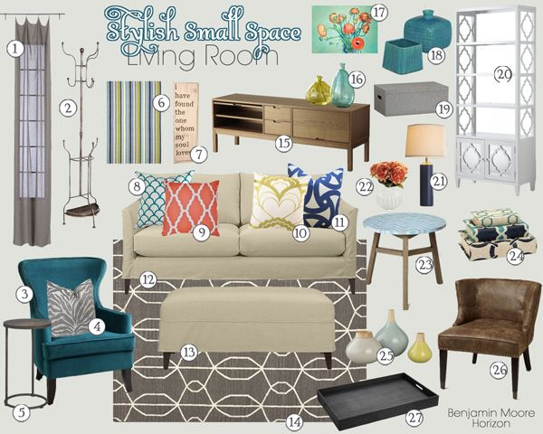 Favorite Sources: Versatile Accent Pieces | Small space living ...
