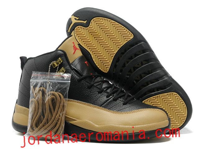 check-out 8e617 ede39 Acheter Chaussures Air Jordan 12 (XII) Light Olive - Noir ...