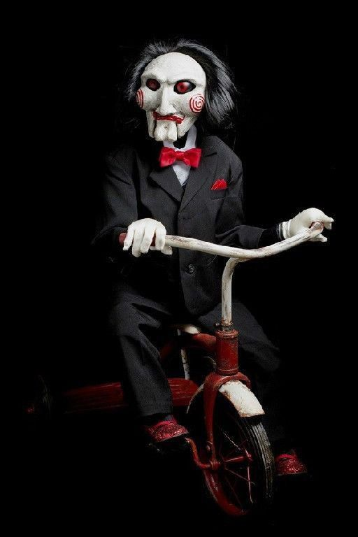 """Saw"" doll 