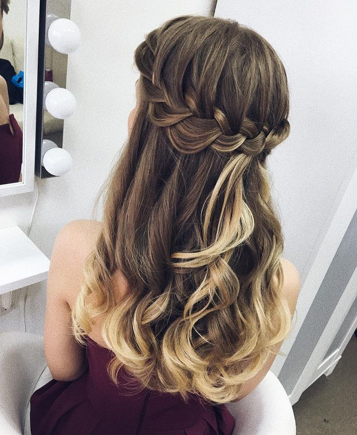 Pretty Dutch braid hair down inspiration | #braids #crownbraids #updo #hairdown #hairstyles #weddinghair #dutchbraidhairideas