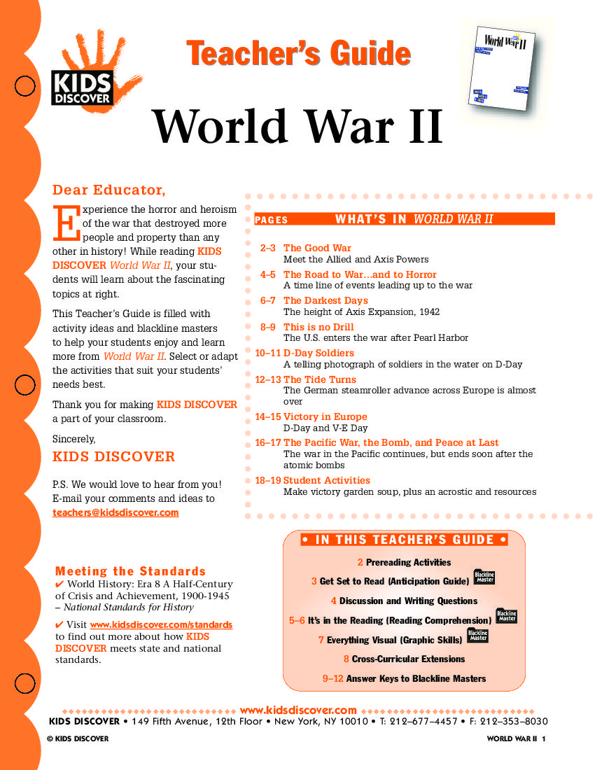 worksheet Holocaust Worksheet wwii unit this free lesson plan for kids discover world war ii will you teach