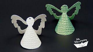 Süße Engel Basteln Zu Weihnachten Als Christbaumschmuck Schöne