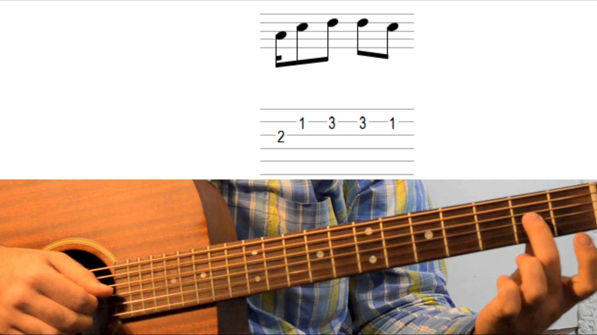 Уроки гитары Ray Charles Hit The Road Jack Guitar