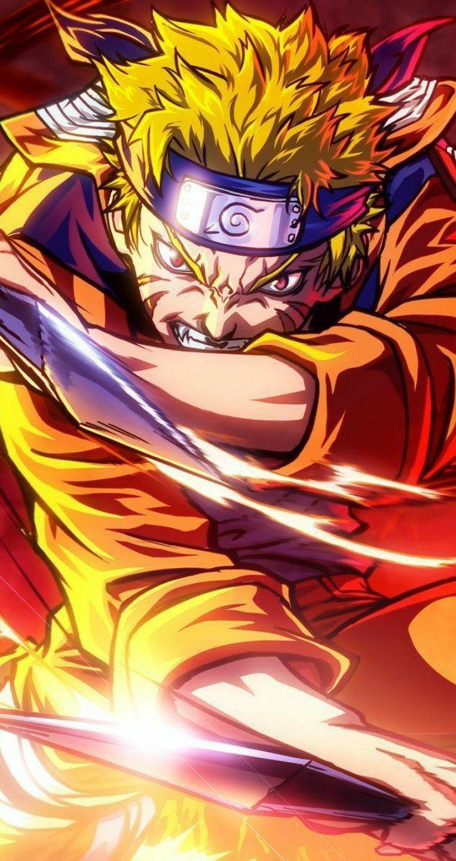 Uzumaki Naruto Ilustrasi Komik Ilustrasi Poster Gambar