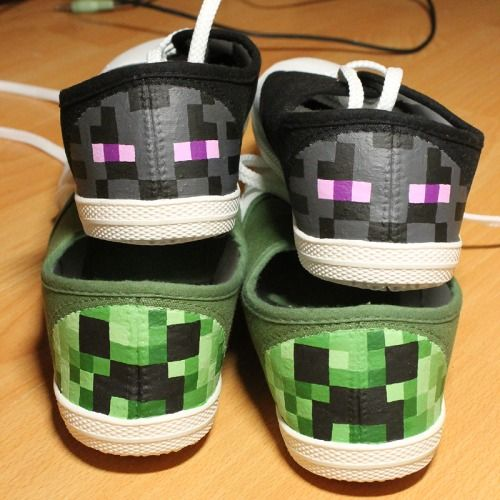 how to make minecraft shoes