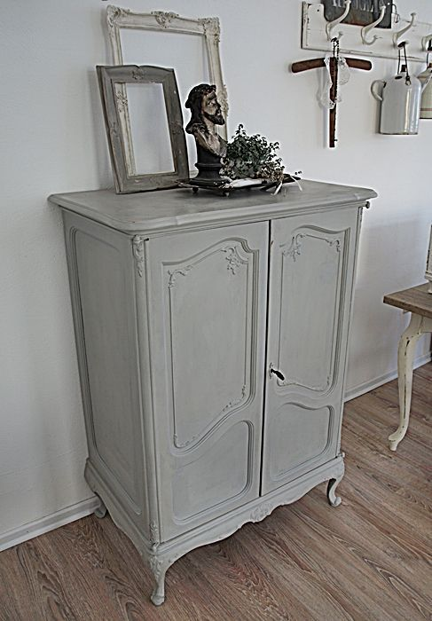 chalk paint von annie sloan paris grey wohnklunker craft ideas pinterest paris grey. Black Bedroom Furniture Sets. Home Design Ideas