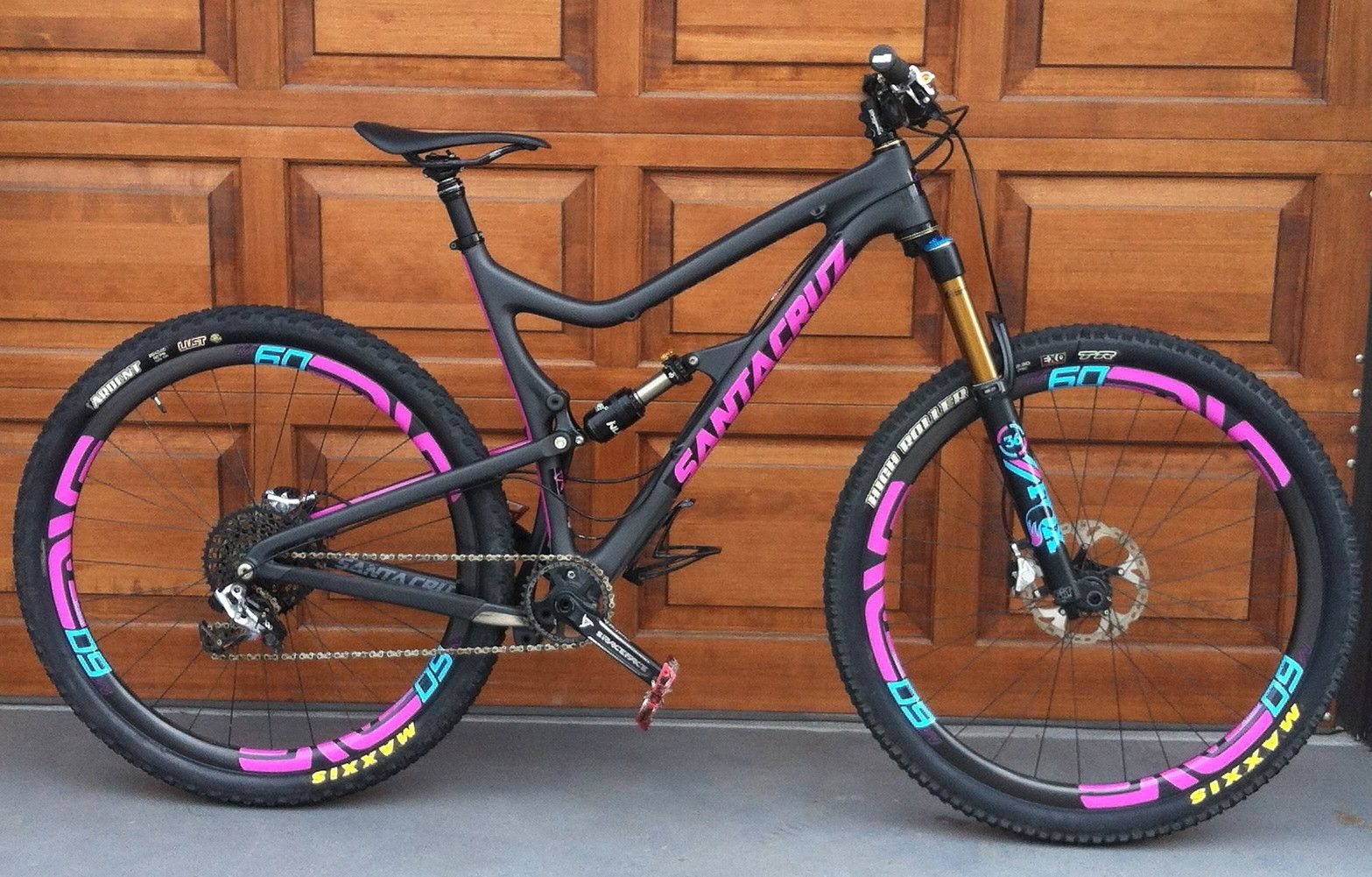 santa cruz tallboy custom decals troydon_murisons bike check vital mtb