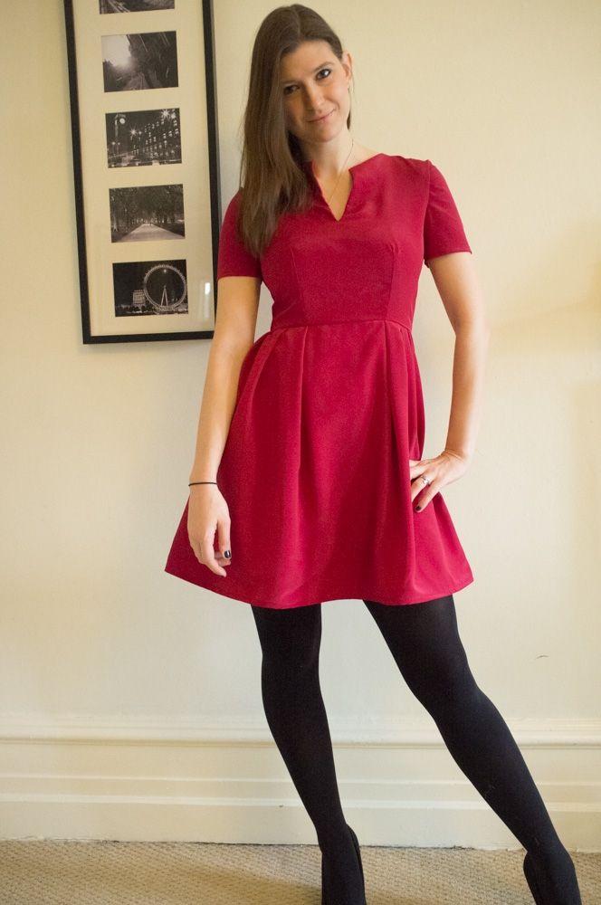The Stress Dress Sleek Silhouette Dresses Sewing Dresses Garden Party Dress