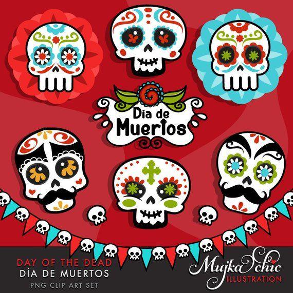 22+ Cute dia de los muertos clipart ideas