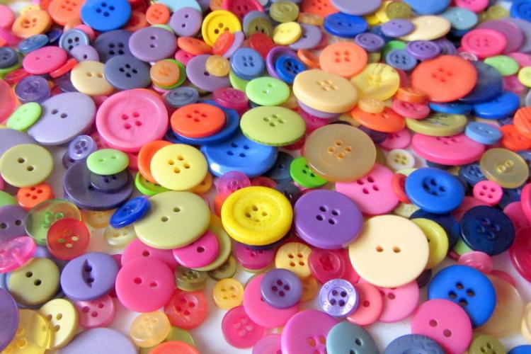 20 projets À faire avec des boutons!   boutons, projet et faire