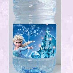 étiquettes bouteilles reine des neiges 2