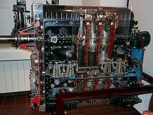Junkers Jumo 205 Diesel Engine Engineering Aircraft Engine