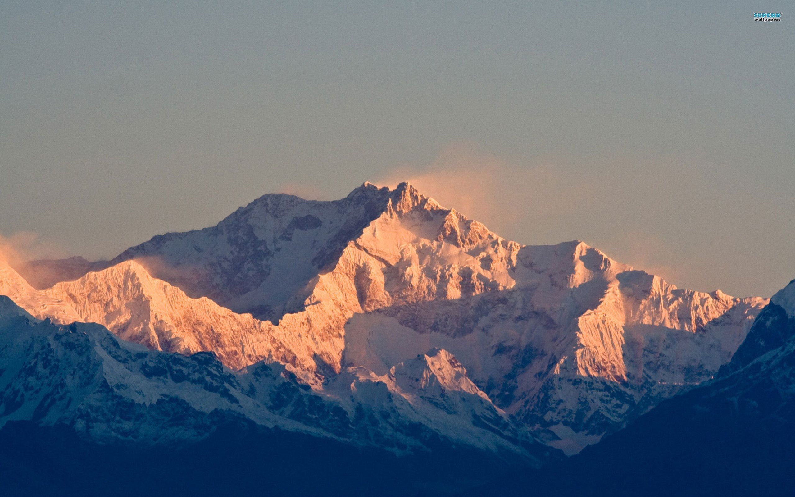 Mountains In Nepal, Kanchenjunga (8,586 m), The third highest mountain in the world