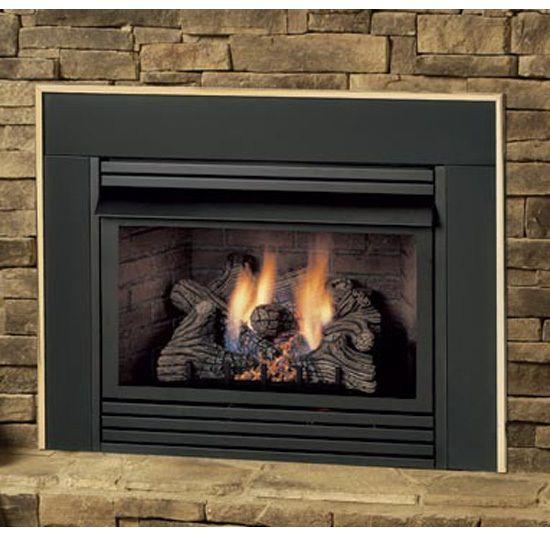 Gas Fireplace Inserts Monessen Ventless Gas Insert Lp