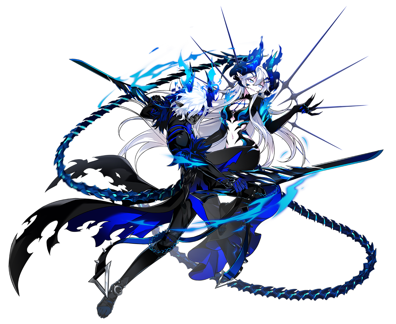 Diangelion (Madness State) Animedämon, Fantasyfiguren