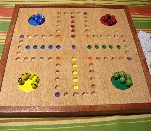 FREE SHIP!Handmade wood(AGGRAVATION,FAST TRACK,WAHOO[type]) game ...