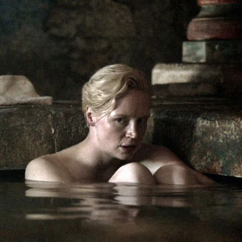 Brienne Jaime Bath Encounter Game Of Thrones