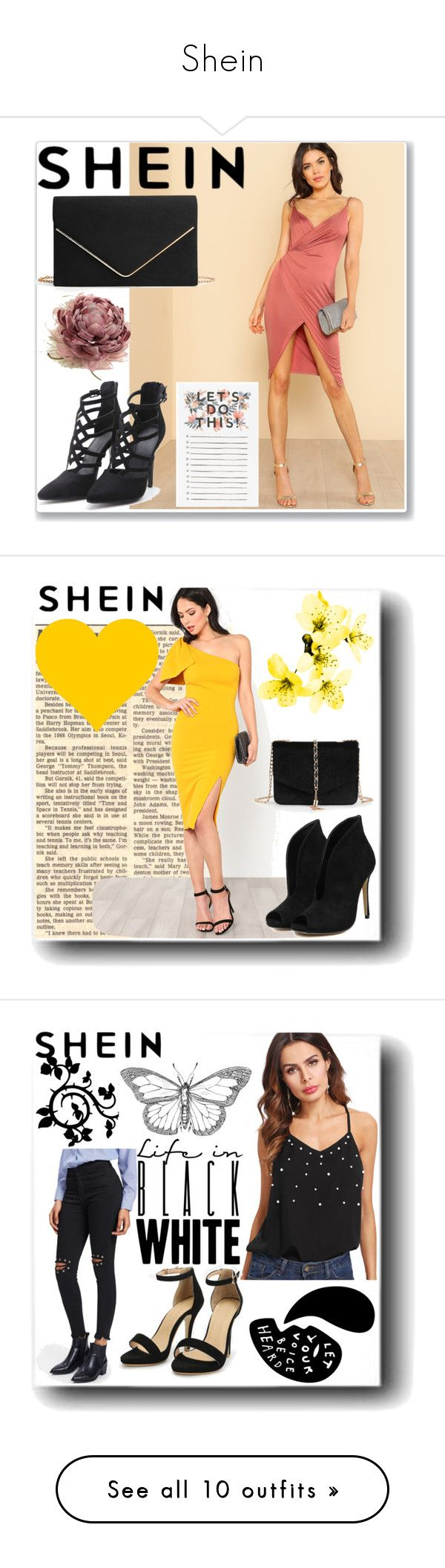 """""""Shein"""" by fashionlover0811 ❤ liked on Polyvore featuring MAC Cosmetics and Oris"""