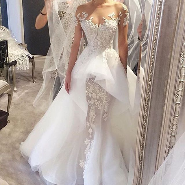 Designer: Steven Khalil | Wedding dress | Pinterest | Brautkleid ...