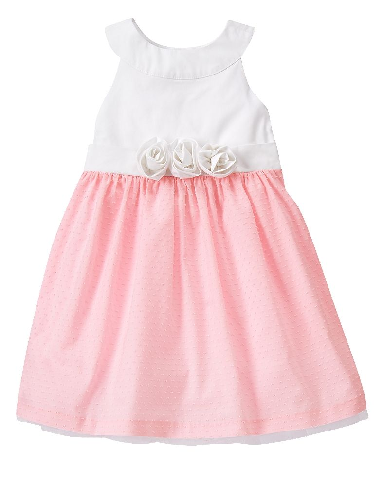gymboree toddler petal pink swiss dot dress gymboree kids
