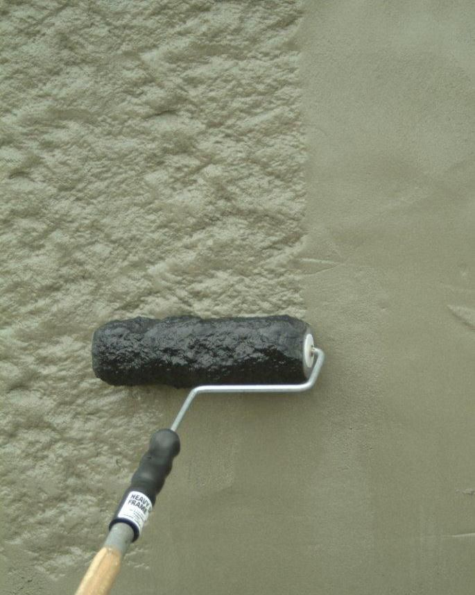 Rock Face Texture Roller Wall Painting Techniques Repairing Plaster Walls Textured Walls