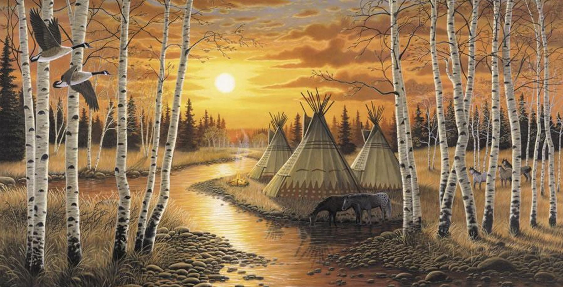 Background indians google search silver wolf pinterest fabulous selection of free native american themes plus many other desktop enhancements amipublicfo Choice Image