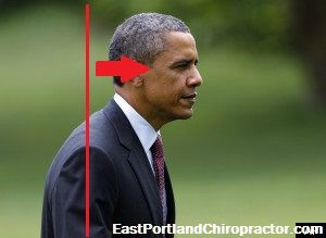 Is posture really that important? You'd be surprised at what else is affected!  Pres. Obama even is caught with some forward head posture!