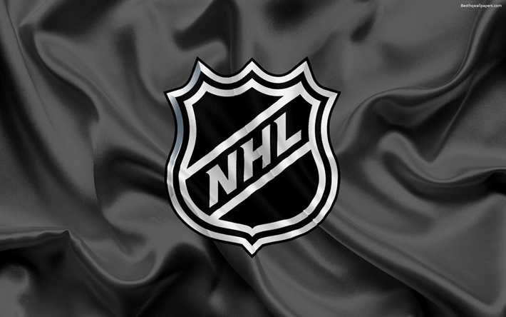 Download wallpapers NHL, USA, National Hockey League, NHL logo ...