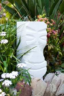 How To Make A Hebel Stone Garden Sculpture Bunnings Warehouse