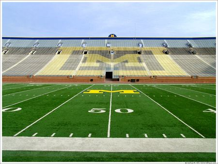 One Of The Greatest Places In The World Go Blue Michigan Football Stadium Football Stadiums