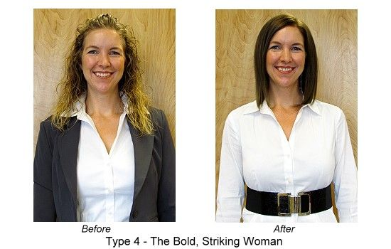 A DYT Type 4 makeover: Melanie - Before and After | A DYT Type 4