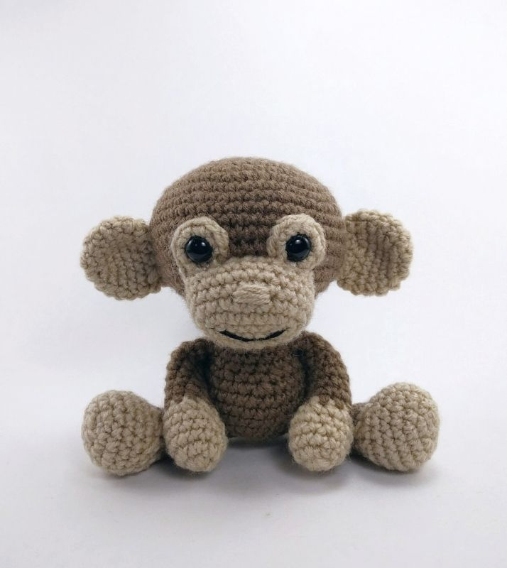 Martin The Monkey Amigurumi Pattern By Theresas Crochet Shop