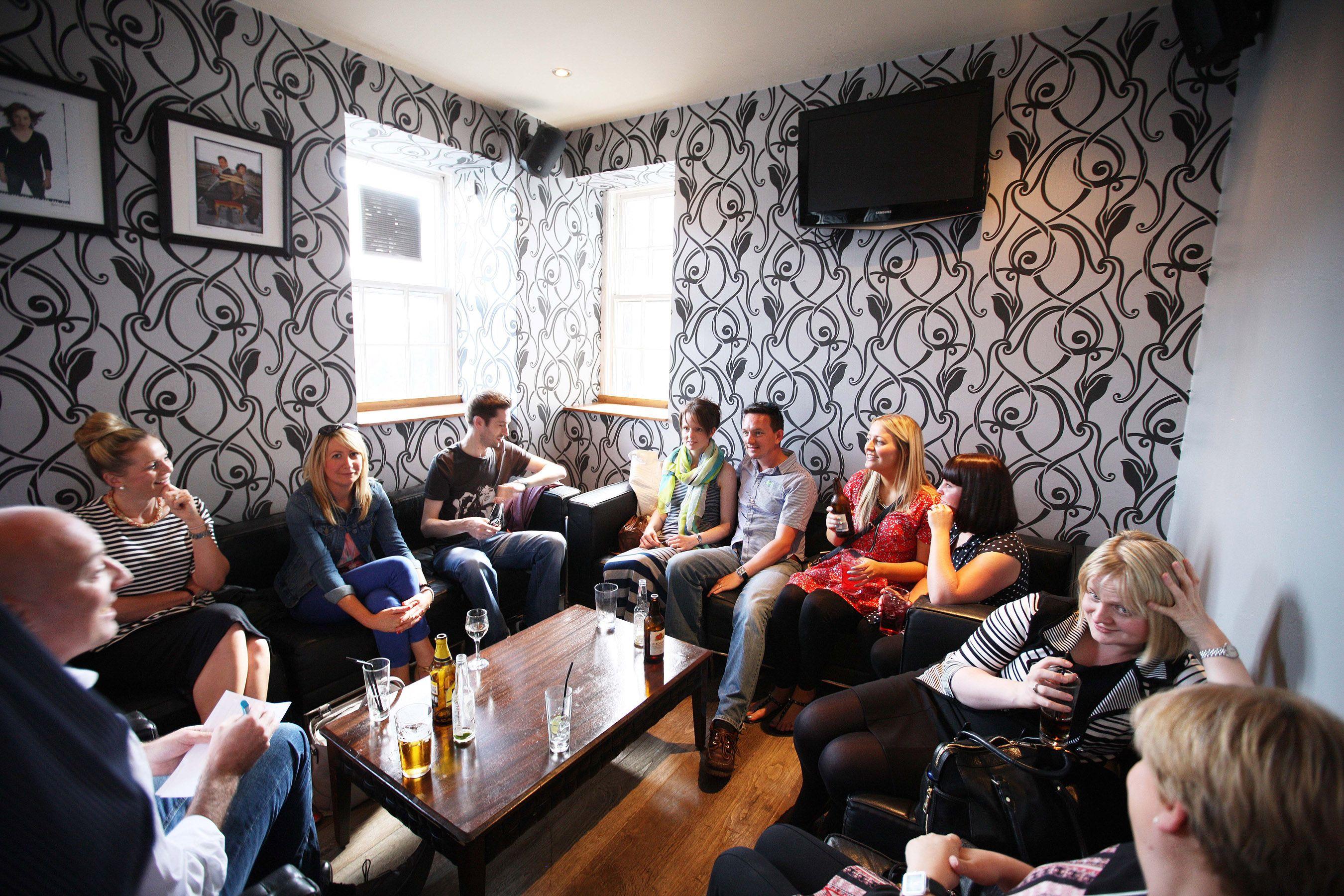 Drinks Before Hand Pub Quiz Pub Room