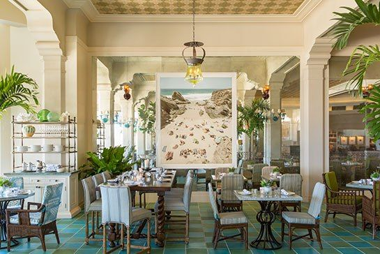 Michael S Smith Refreshes Hotel Casa Del Mar Beautiful