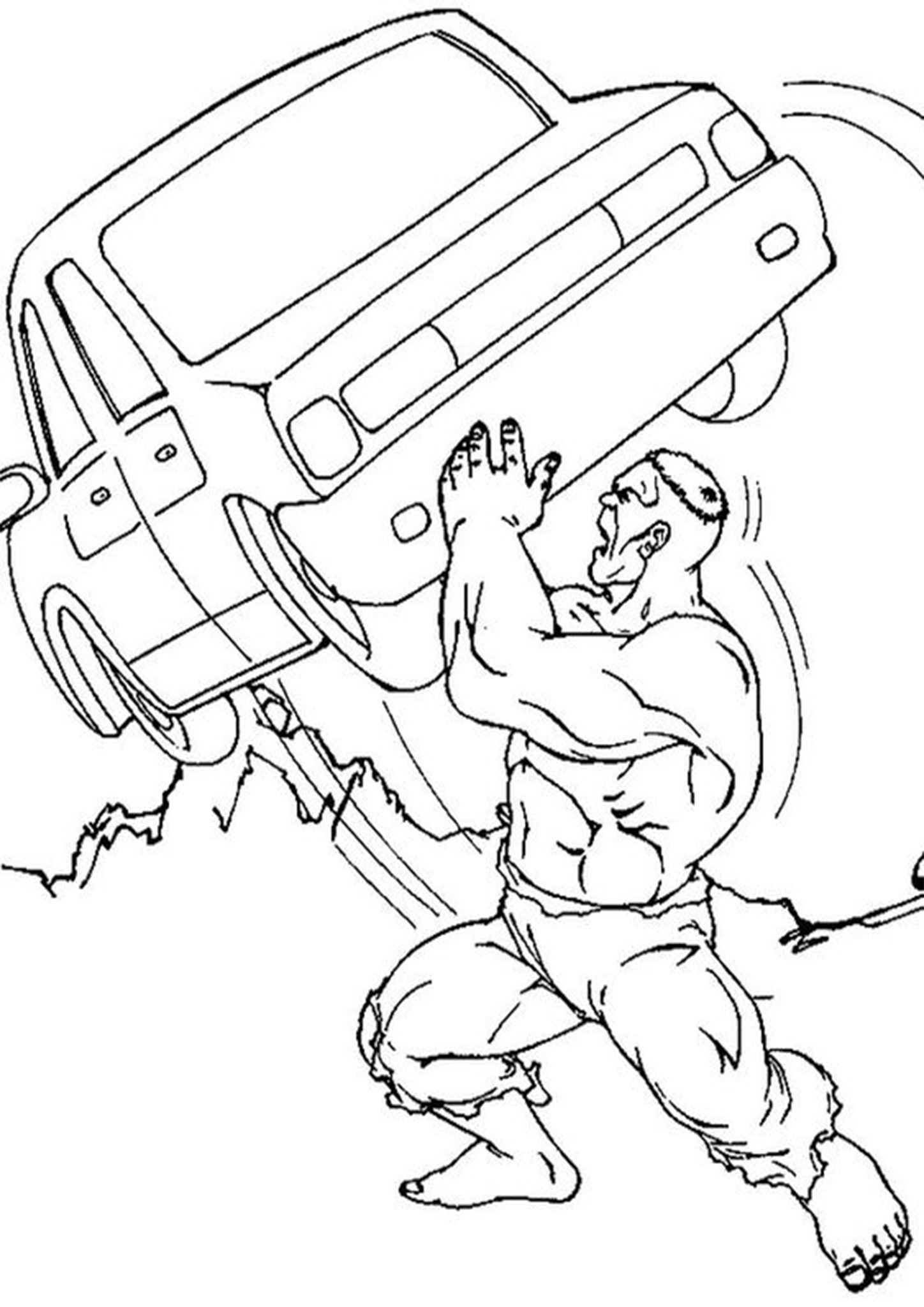 Free Easy To Print Hulk Coloring Pages Tulamama