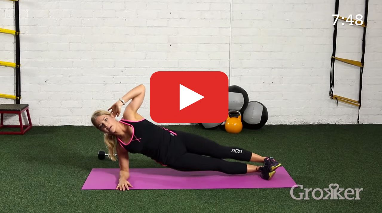 Don't let the short timeframe fool you: This is non-stop, stomach-sculpting action. http://greatist.com/move/bodyweight-abs-workout