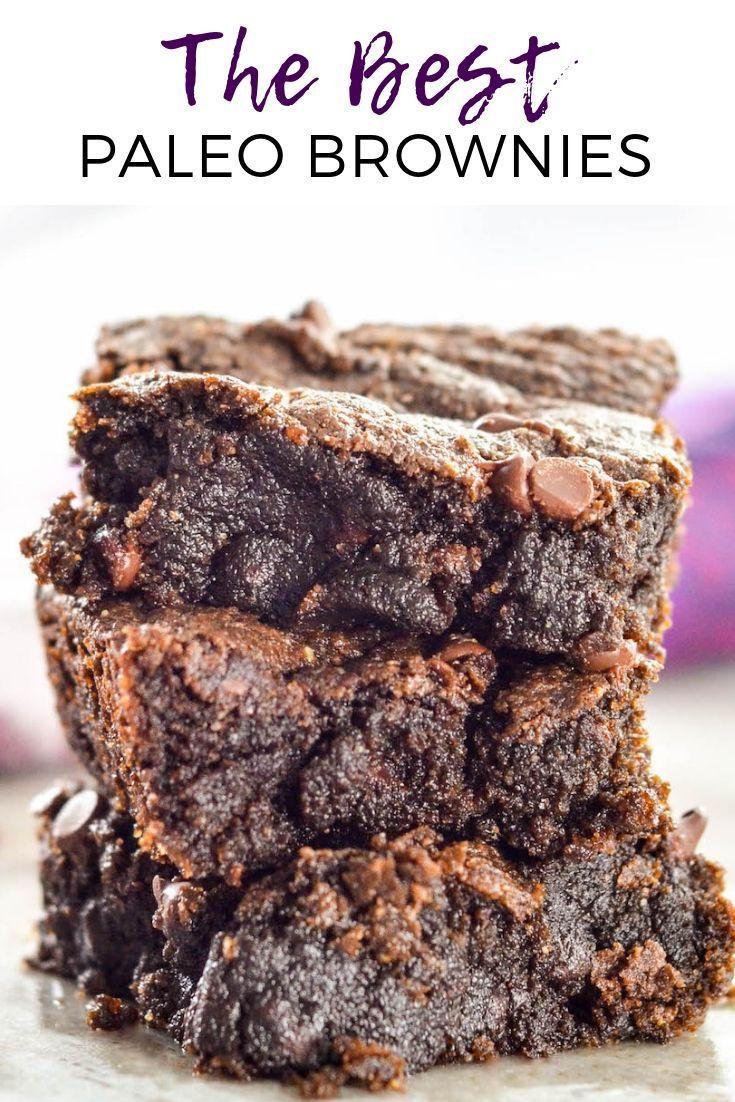 Vegan Fudgy Paleo Brownies Recipe
