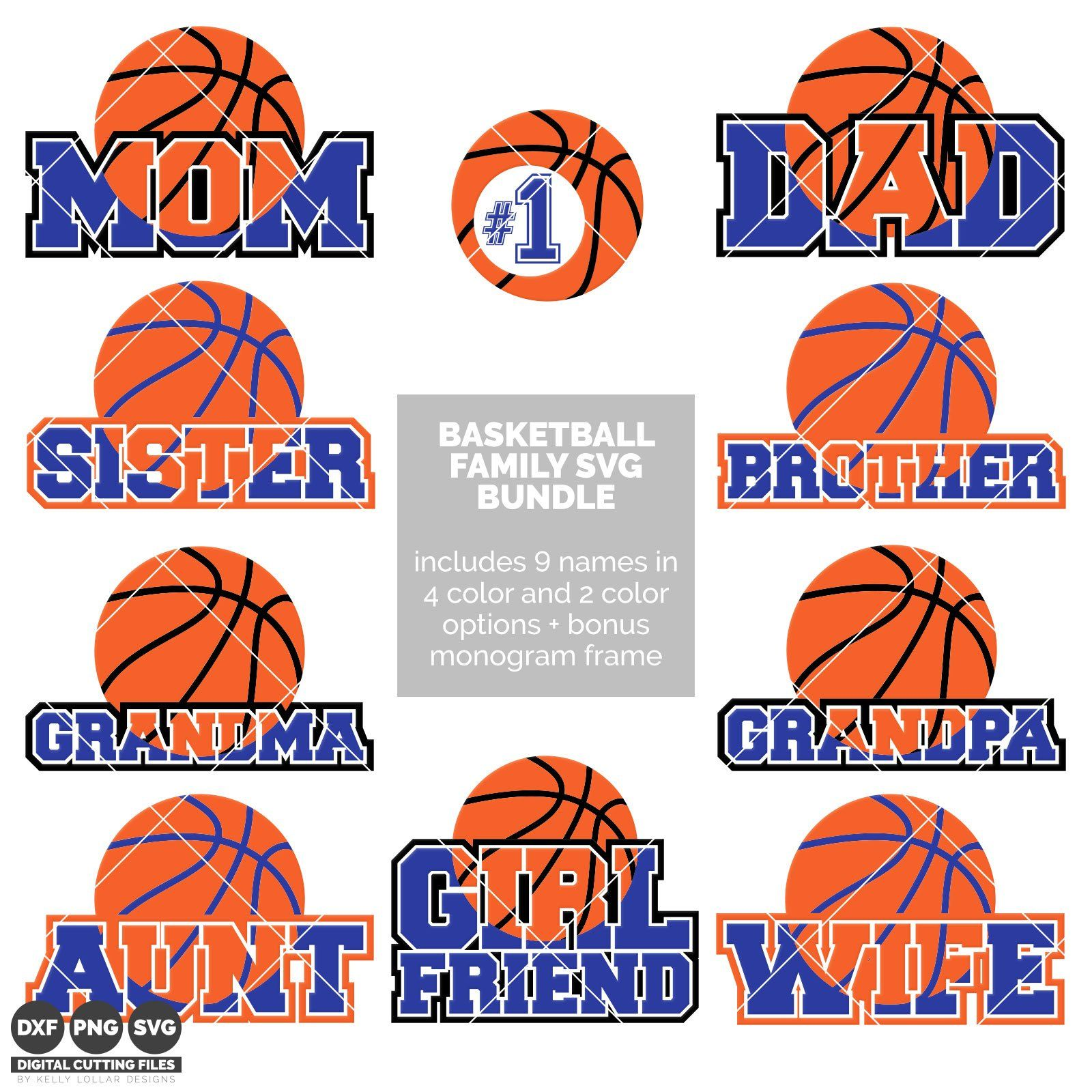 basketball family bundle - Basketball Pictures To Color 2