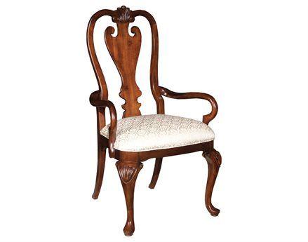 Kincaid Carraige House Queen Anne Dining Arm Chair